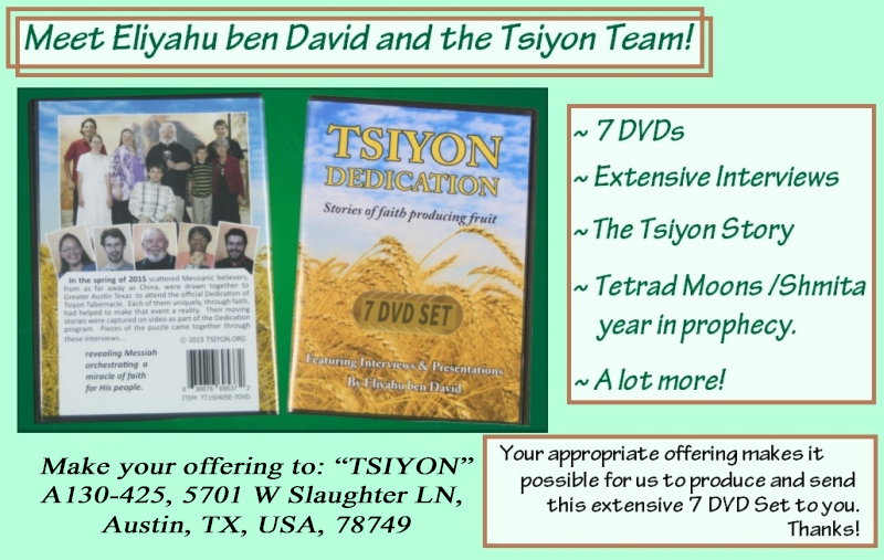 Get the Tsiyon Dedication 7 DVD Set!