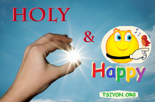 Be Holy AND Happy!