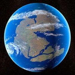 Antediluvian Super-Continent
