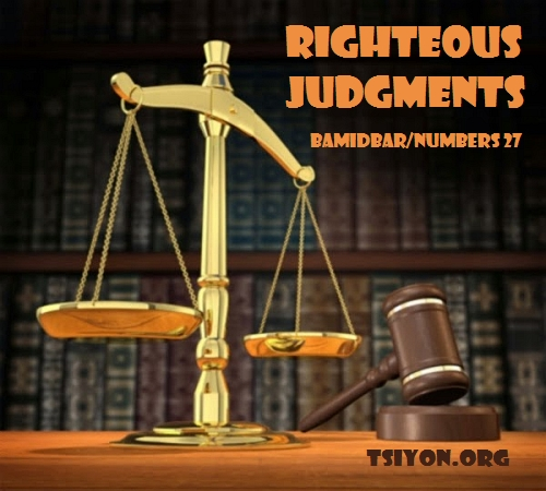 Righteous Judgments