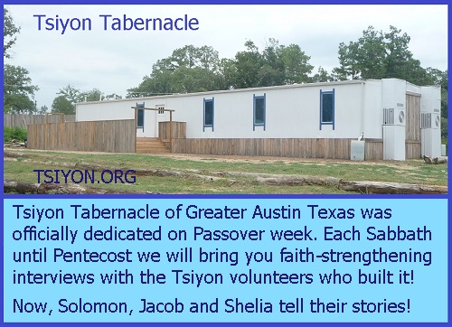 Tsiyon Tabernacle Dedication Interviews