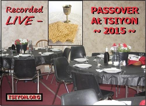 Tsiyon Passover 2015 Live Recording