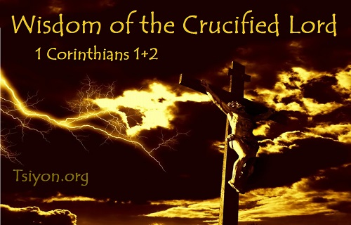 Wisdom of the Crucified Lord