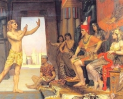 Joseph Interprets for Pharaoh