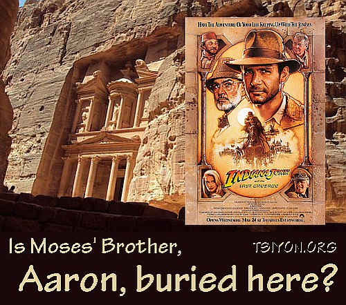 """Aaron and the """"Last Crusade""""?"""