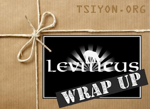 Leviticus Wrap Up