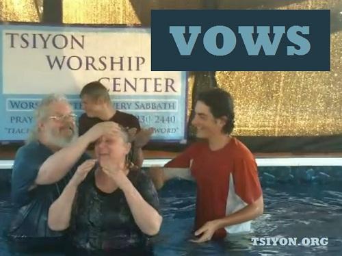 Mikveh Vows