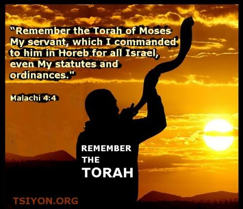 Remember the Torah